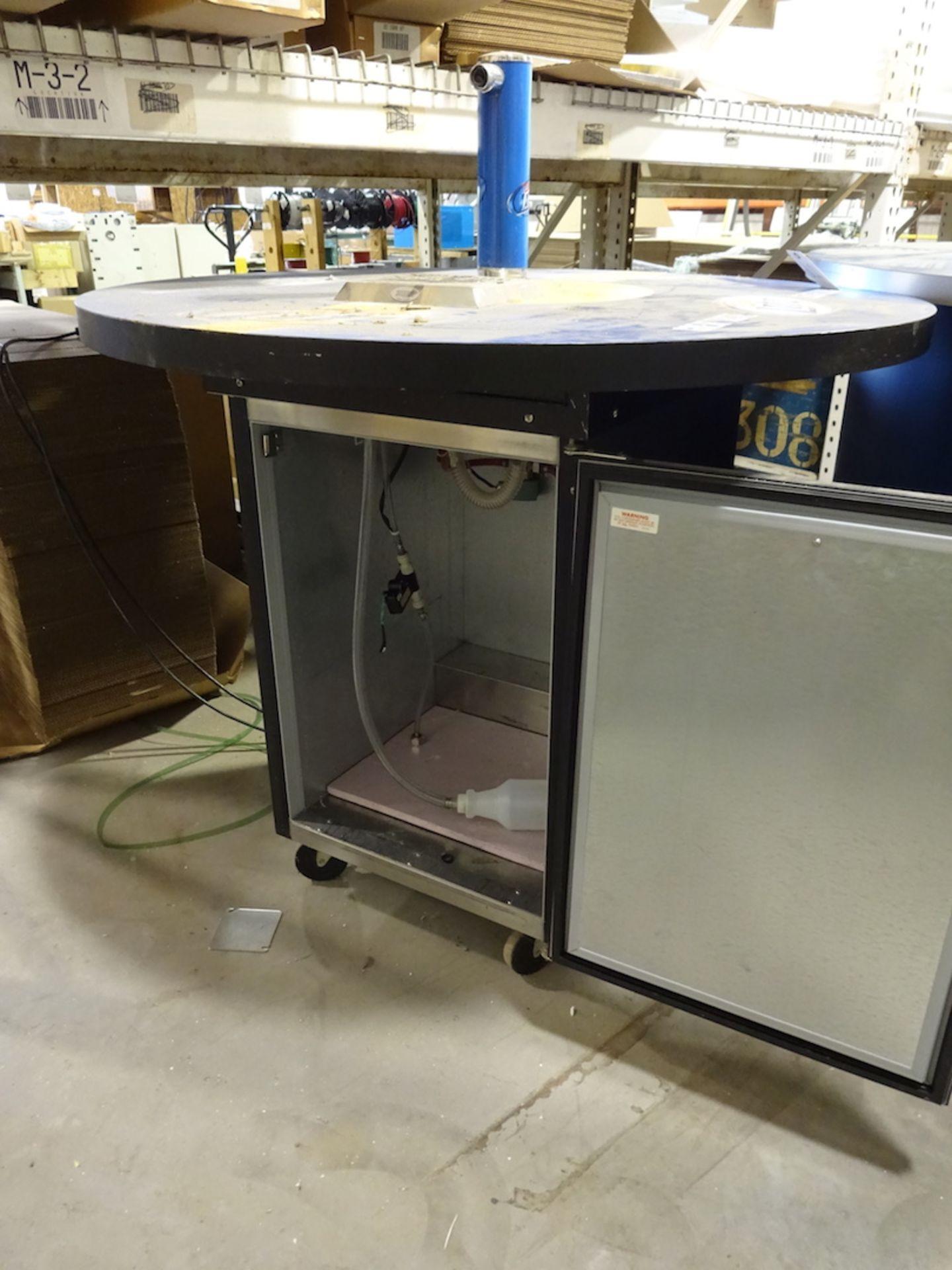 Lot 126 - Beverage Air 1/2 Barrel Beer Cooler, with Top (Kegerator)