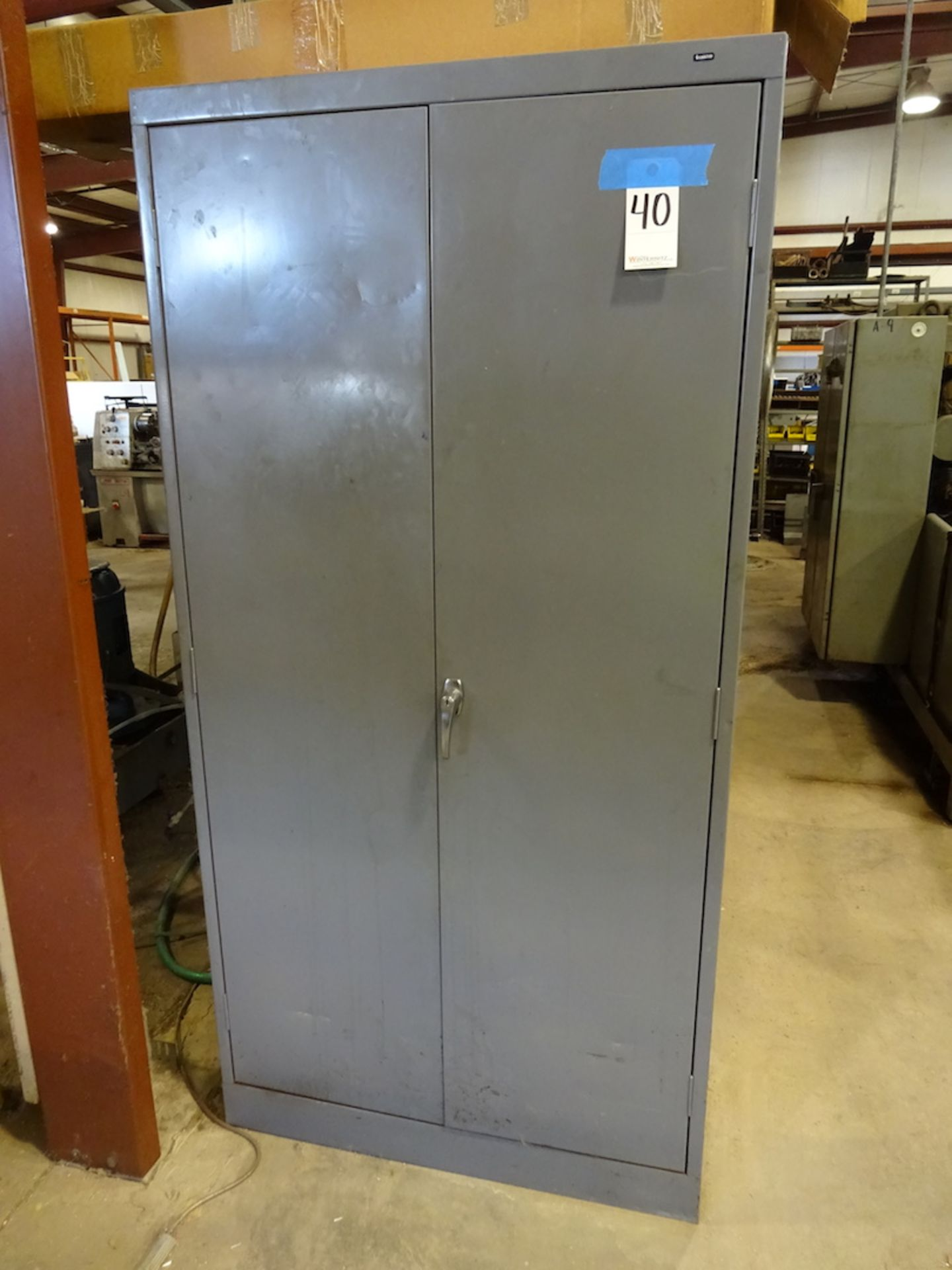 Lot 40 - 2-Door Steel Storage Cabinet (no contents)