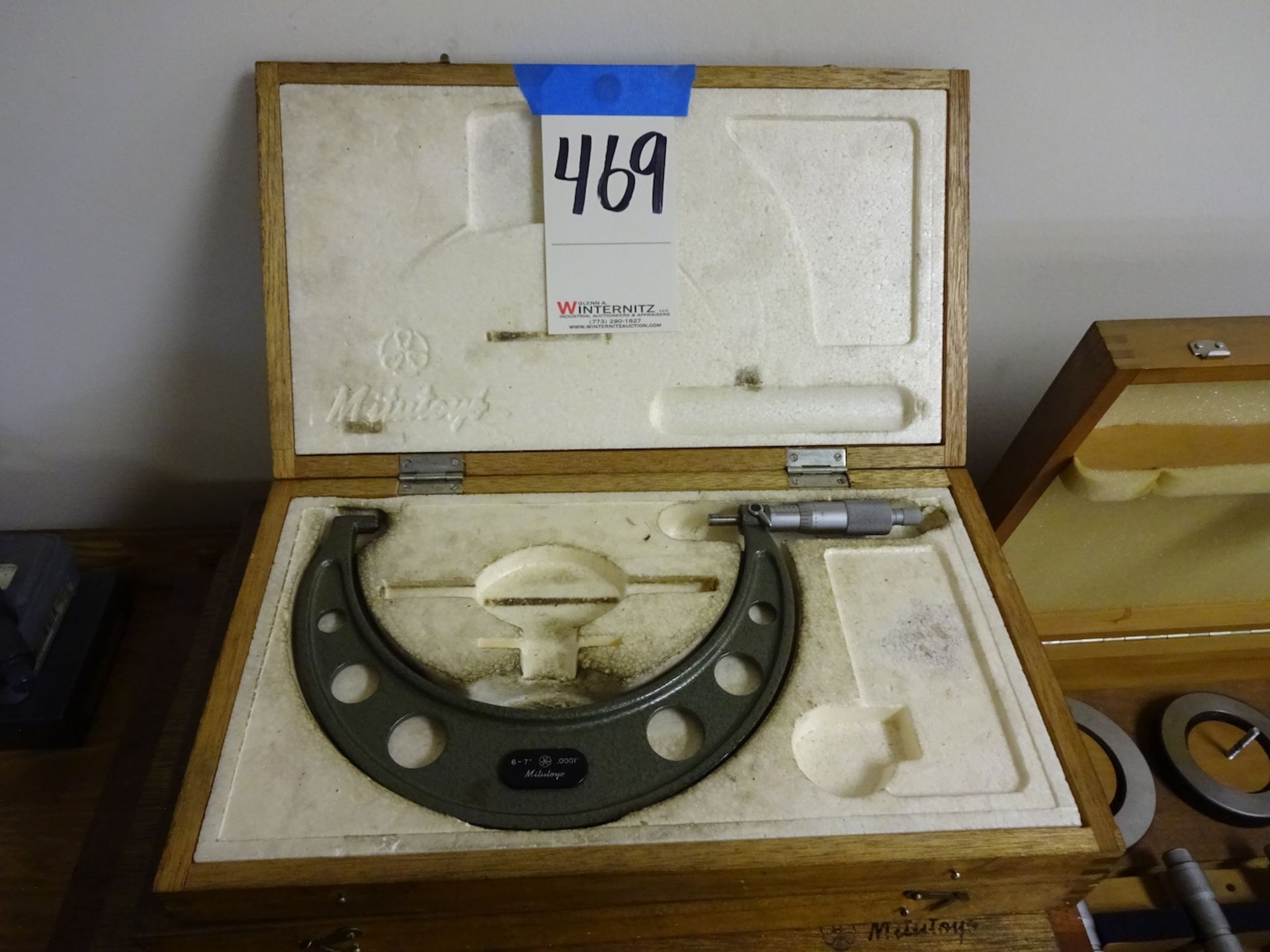 Lot 469 - Mitutoyo 6 in. - 7 in. Micrometer