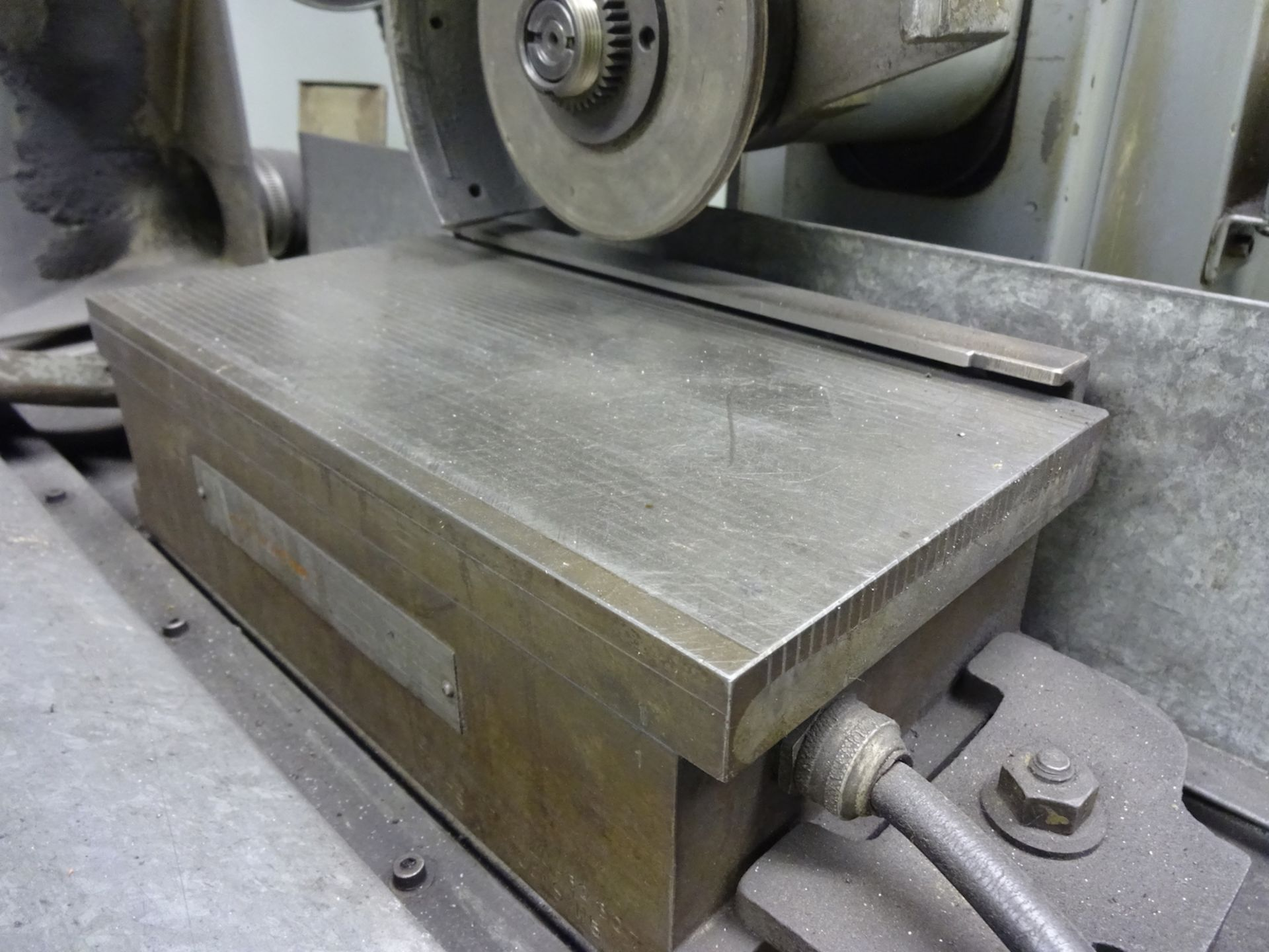 Lot 124 - Boyar Schultz 6 in. x 12 in. Model 612 Deluxe Hand Feed Surface Grinder, S/N 16896, Electro-Matic
