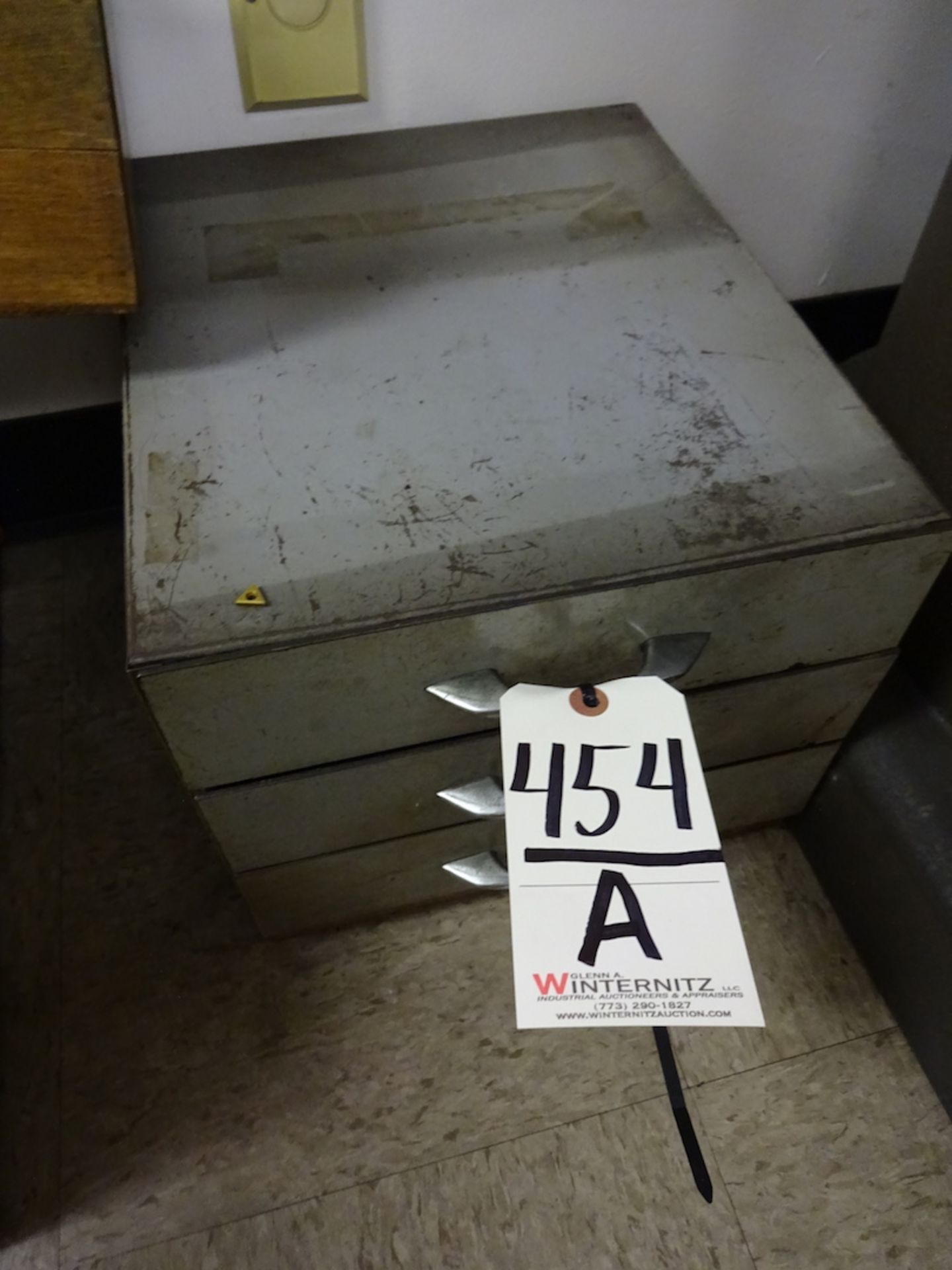 Lot 454A - 3-Drawer Pin Gauge Set
