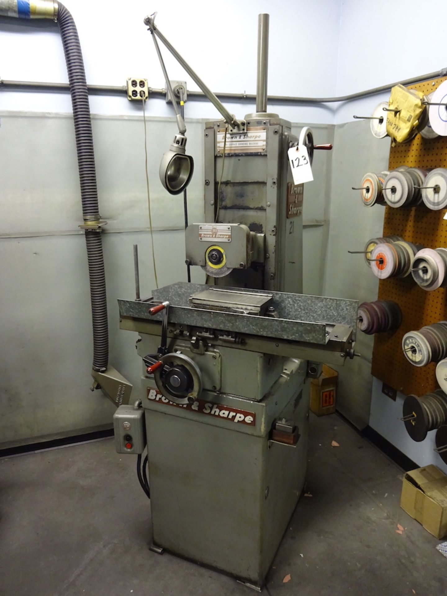 Brown & Sharpe 5 in. x 10 in. Model 510 Hand Feed Surface Grinder, S/N 523-510-1238
