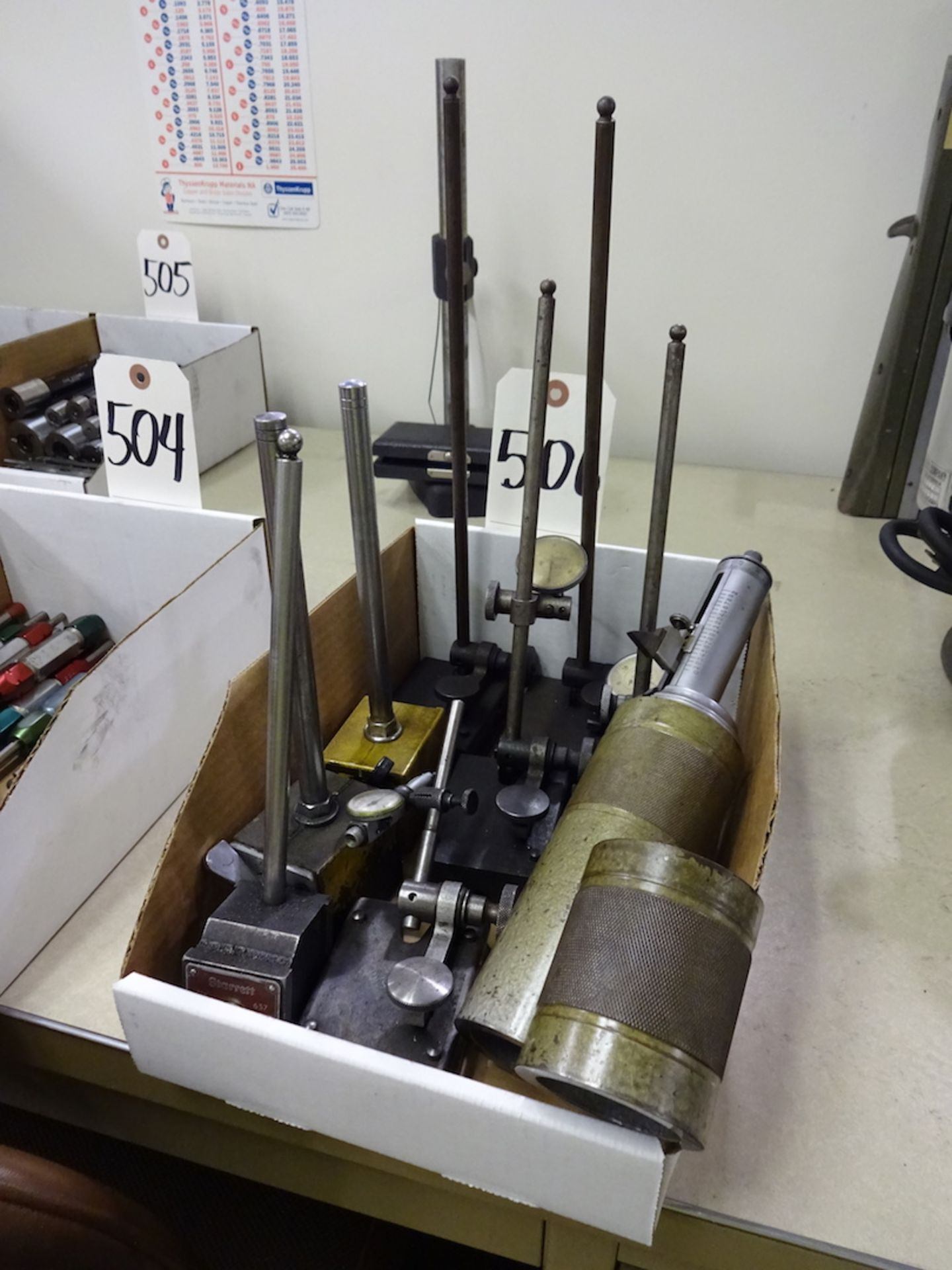 Lot 506 - LOT: Assorted Indicator Stands