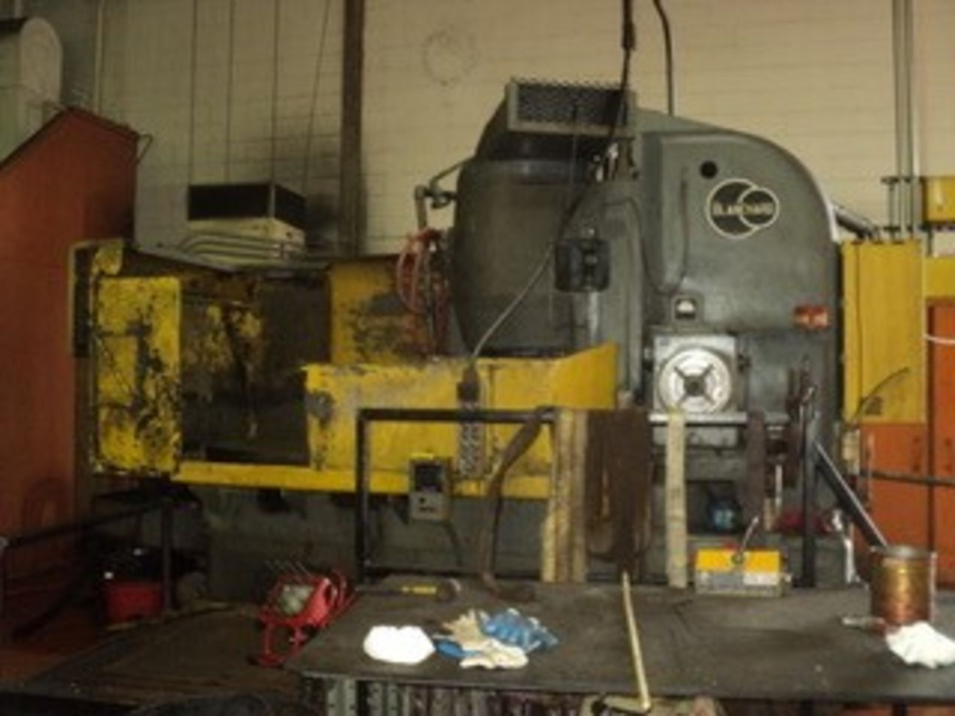 "Lot 1 - BLANCHARD 60"" ROTARY SURFACE GRINDER, SN 11411, LOCATION, MI , BUYER TO LOAD & SHIP"