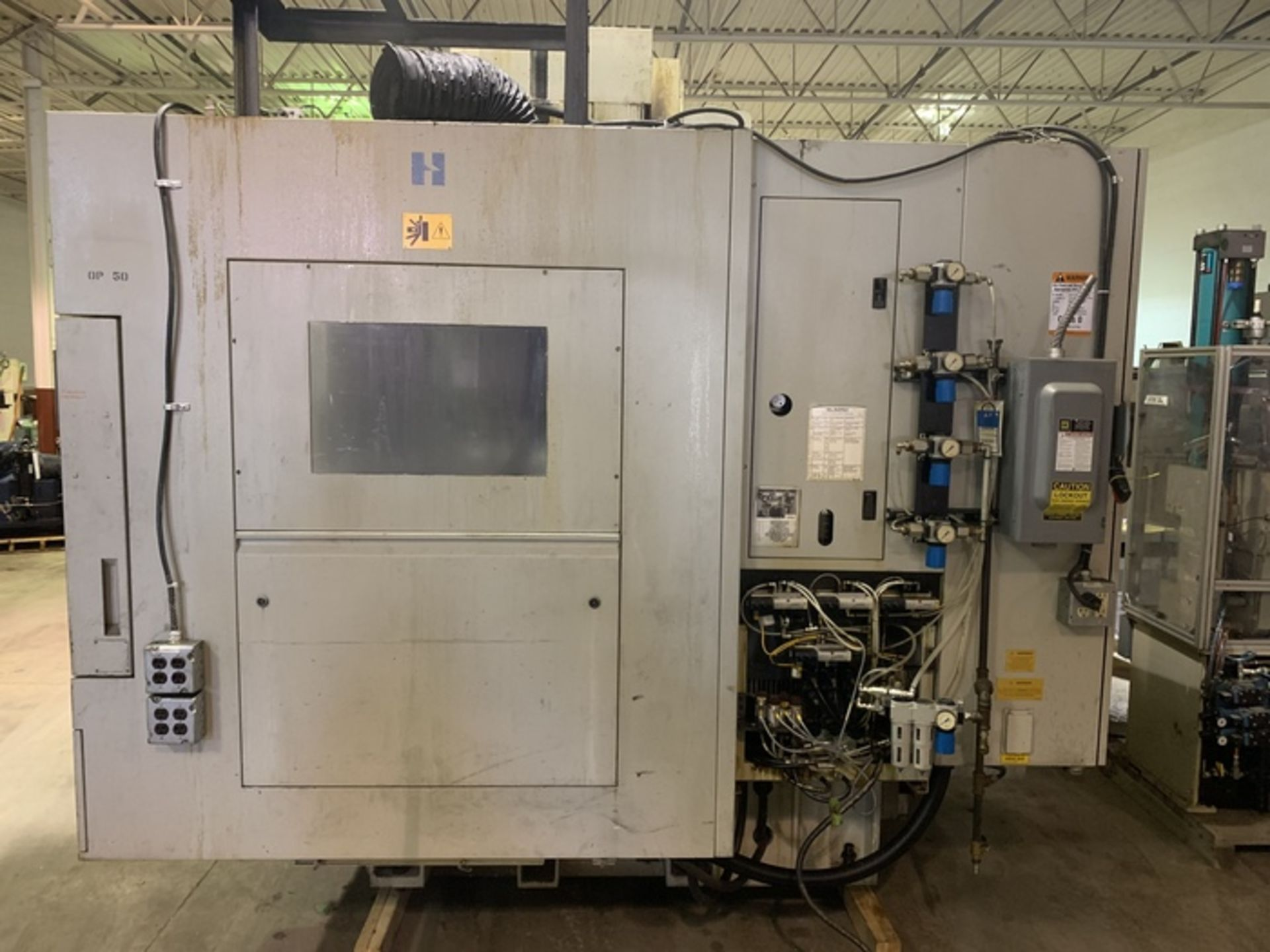 """Lot 9 - HARDINGE XR760 VMC PRODUCTION CENTER 30""""X24""""X24"""" W/4TH AXIS TRUNION, YEAR 2010, SN XRAB0A0001"""