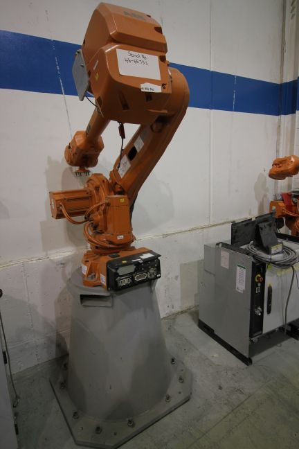 RARE OFFERING OF NEW NEVER USED ABB & KUKA ROBOTS