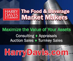 Food & Beverage Manufacturing Equipment - Dairy, Beverage, Prepared Foods, and Packaging Equipment