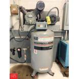 Ingersoll Rand 5 HP Air Compressor Model 2475, S/N 00037666, 1766 RPM, 208-230 Volts