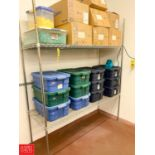 Wire Rack, S/S Stand, Brushes, and Buckets