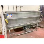 Sani-Matic 6' S/S COP Wash Trough Model PW-06-10-M-SN with Jet Spray and Centrifugal Pump with 7.5