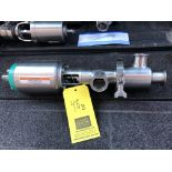 """Alfa Laval / TriClover 1.5"""" S/S 3-Way Air Valve; Model: 761"""