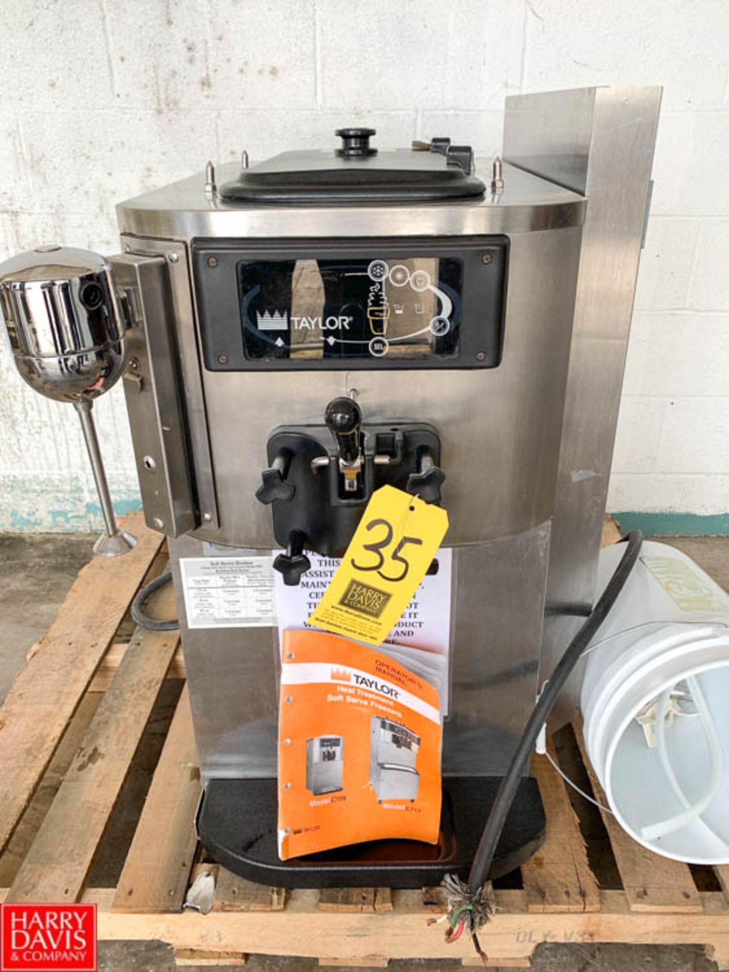 Lot 35 - Taylor Soft Serve Freezer, Model C709-33, S/N M1073412, 208-230 Volt, 3-Phase - Rigging Fee: $25