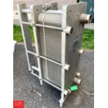 Lot 51 - Mueller S/S Plate Heat Exchanger, Model AT20DFM-71, S/N 56837A - Rigging Fee: $25