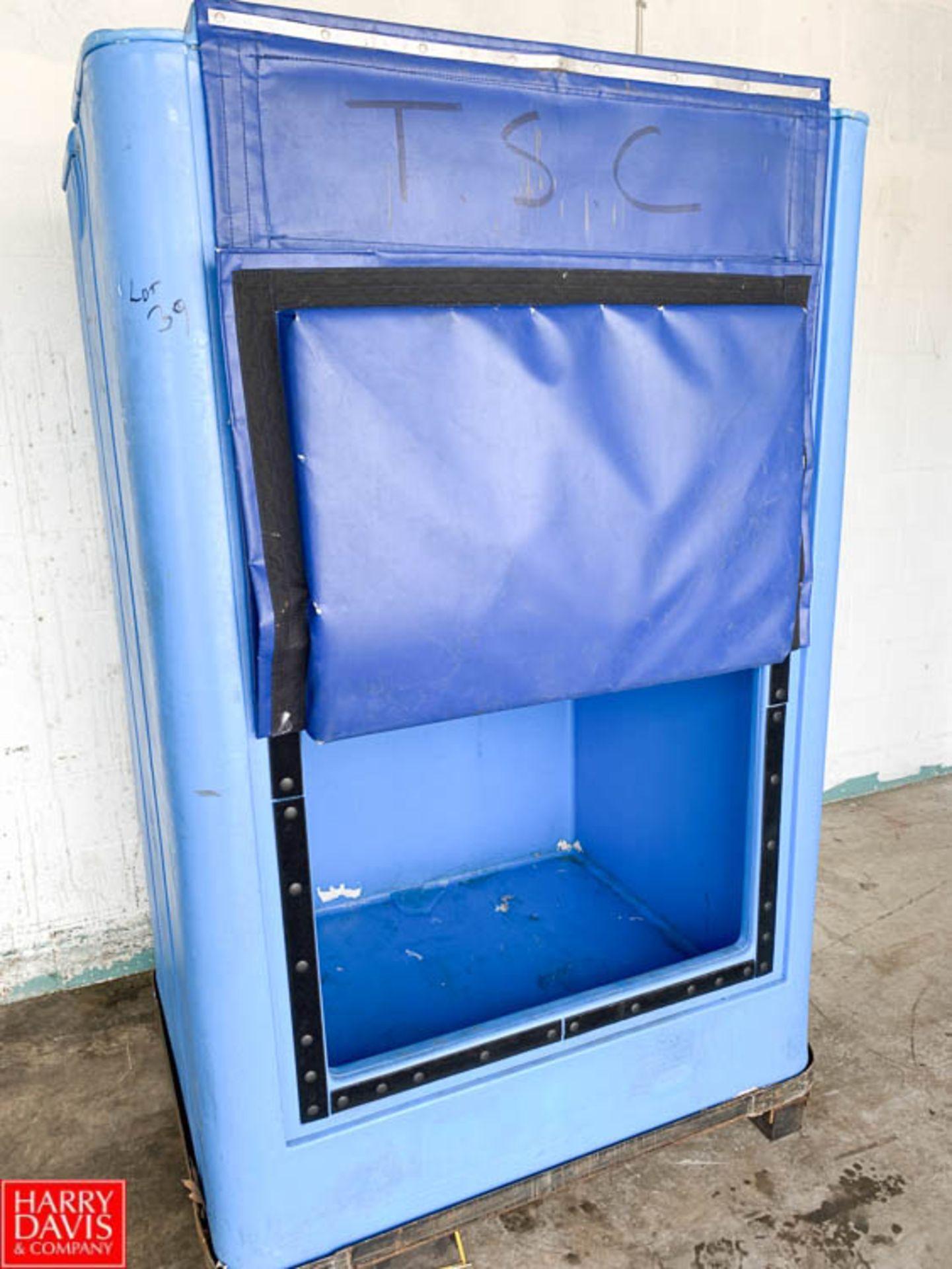 Lot 39 - Ice Cream Transfer Carts - Rigging Fee: $10