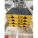 Lot 26 - Eagle Low-Profile Secondary Pallet Containments - Rigging Fee: $10