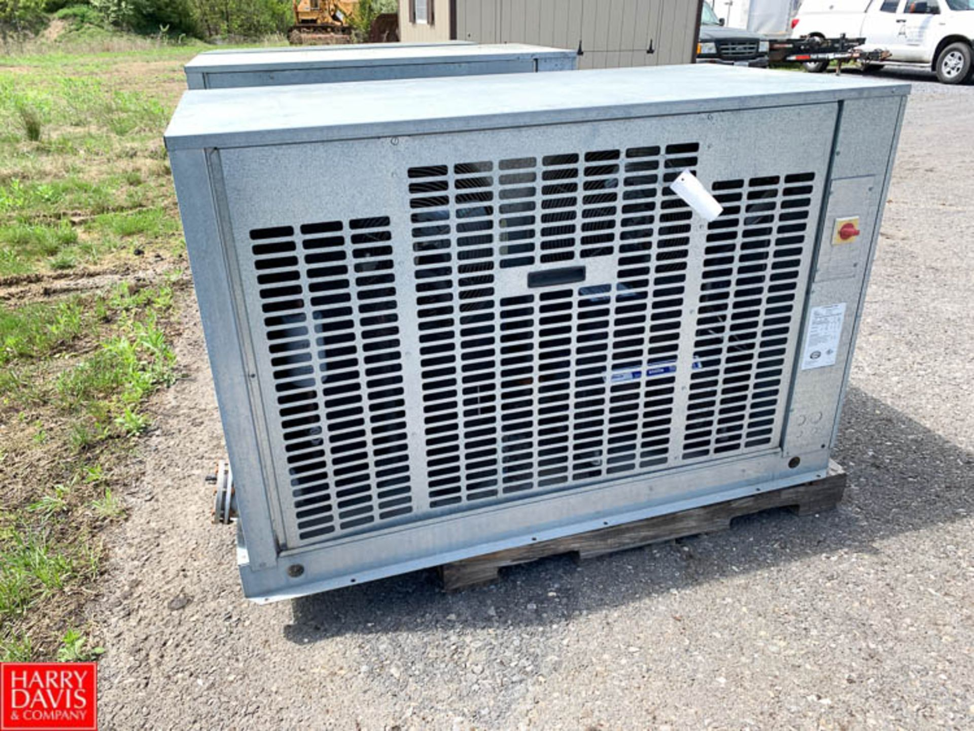 Lot 47 - Trenton Freon Condenser Unit, Model TESA-080H6-HTB4-3747, R404/R507 Refrigerant - Rigging Fee: $25