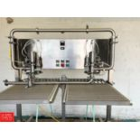 Lot 31 - Parish Manufacturing Double Head Semi-Automatic Bag-in-Box Filler, Model M-235 - Rigging Fee: $25