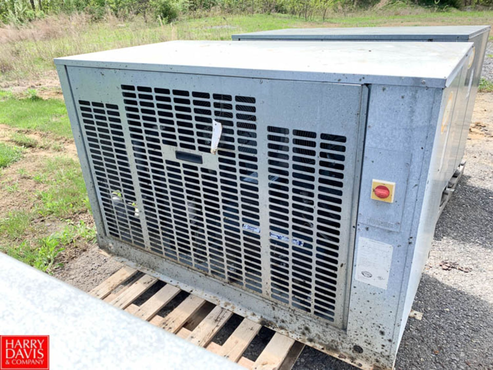 Lot 48 - Trenton Freon Condenser Unit, Model TESA-080H6-HTB4-3747, R404/R507 Refrigerant - Rigging Fee: $25
