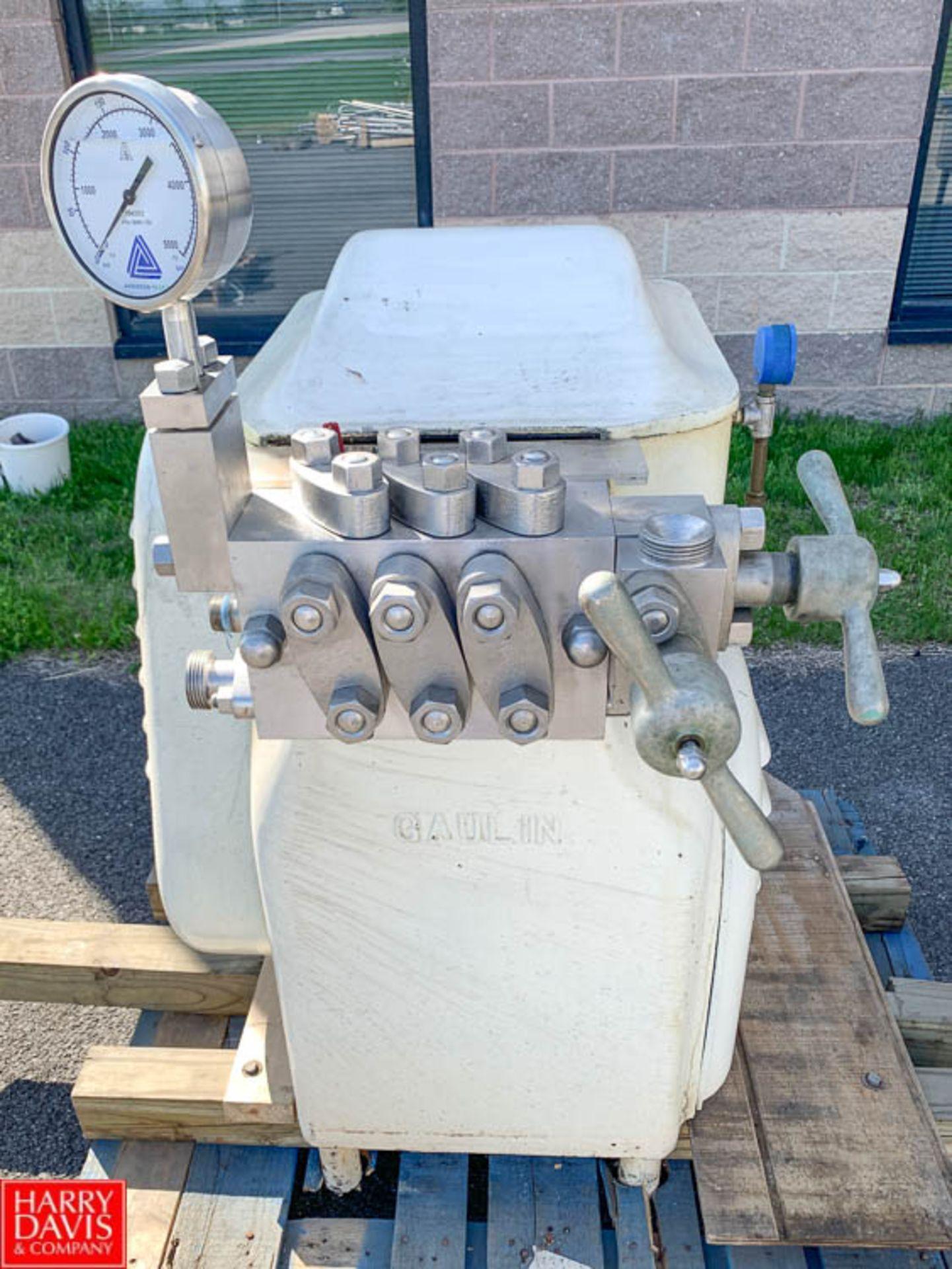 Lot 50 - Manton Gaulin Homogenizer, Model 300, S/N 119--169 - Rigging Fee: $25