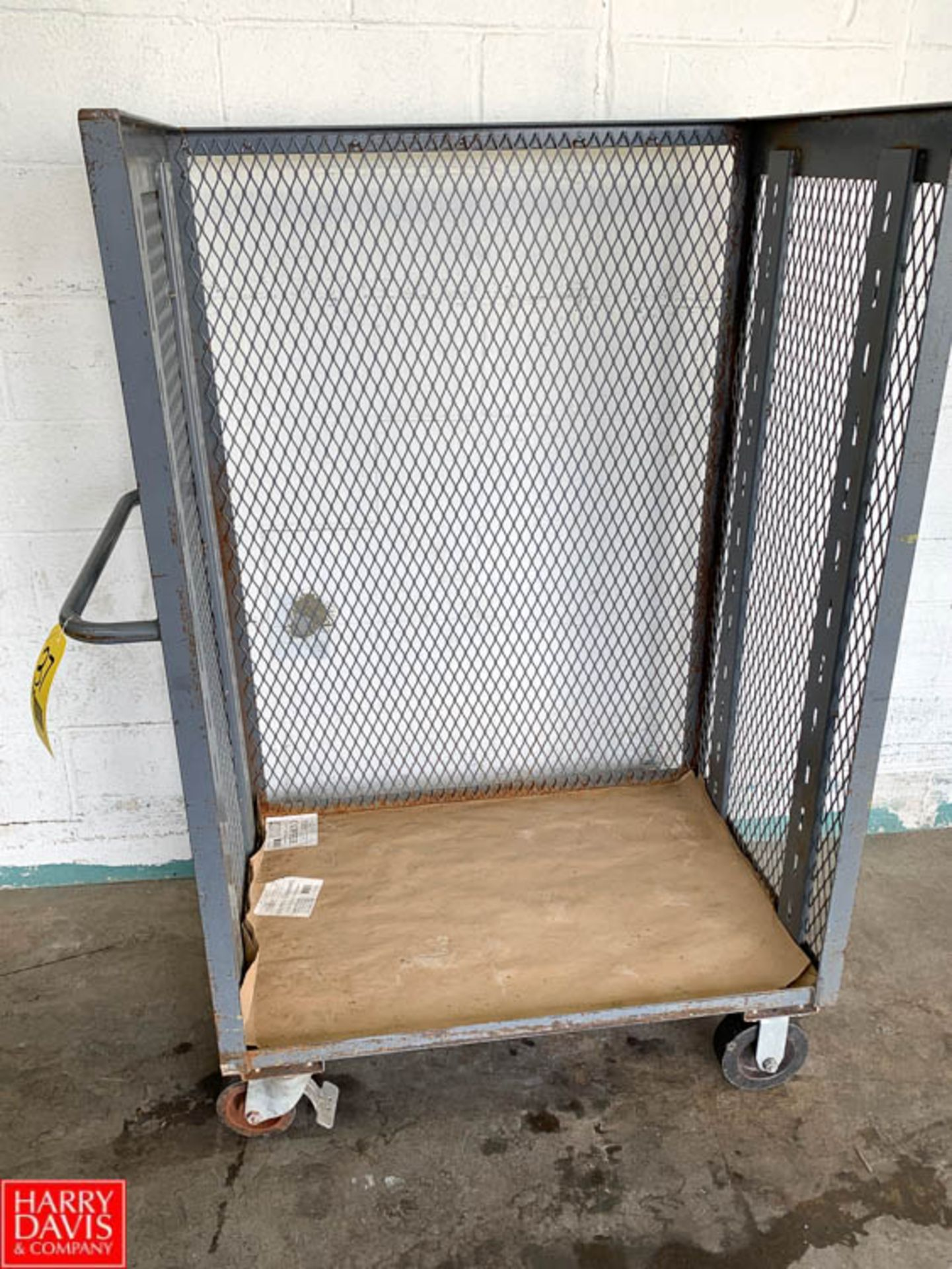 Lot 37 - Steel Stock Carts - Rigging Fee: $10