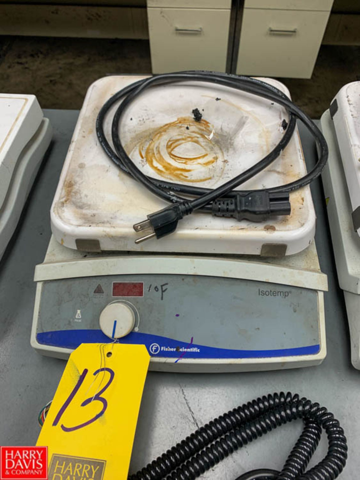 Lot 13 - Fisher Isotemp Hot Plate Rigging Fee: 50