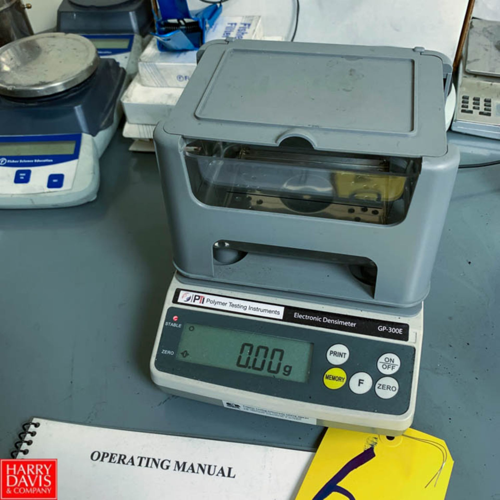 Lot 6 - Polymer Testing Instruments Electronic Densimeter, CP-300 E Series Rigging Fee: 150