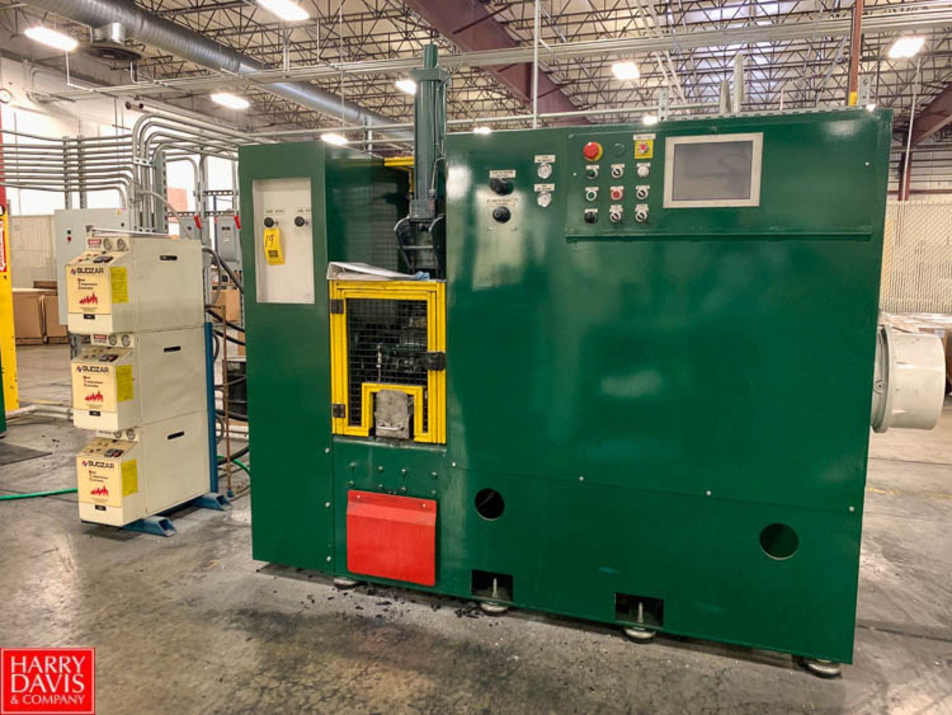 Lot 19 - Rubber City Machinery Rebuilt Farrel BR Lab Mixer with Budzar Mold Temperatre Mold Temperature