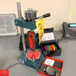 Polymer Testing Instruments Durometer Test Stand with Shimarna Digital Durometer Model SHPMDR176,