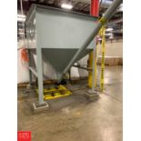 Feed Hopper with 30' Auger Conveyor Rigging Fee: 1100