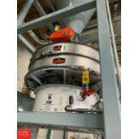 "2016 Kason 60"" Vibratory Sifter, Model K-60-1-SS, S/N M-10902, 2.5 HP Motor Rigging Fee: 400"
