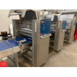 Fritsch Impressa Automated Sheeting and Makeup Dough Processing Line Rigging Fee: $1500