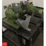 Monforts Komet Twin Screw Vegetable Oil Expeller Model DD85G : SN 203838 Rigging Fee: $100