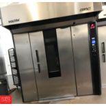 Wachtel Compact 2.8 Double-Rack Baking Oven : SN 27034 Rigging Fee: $500