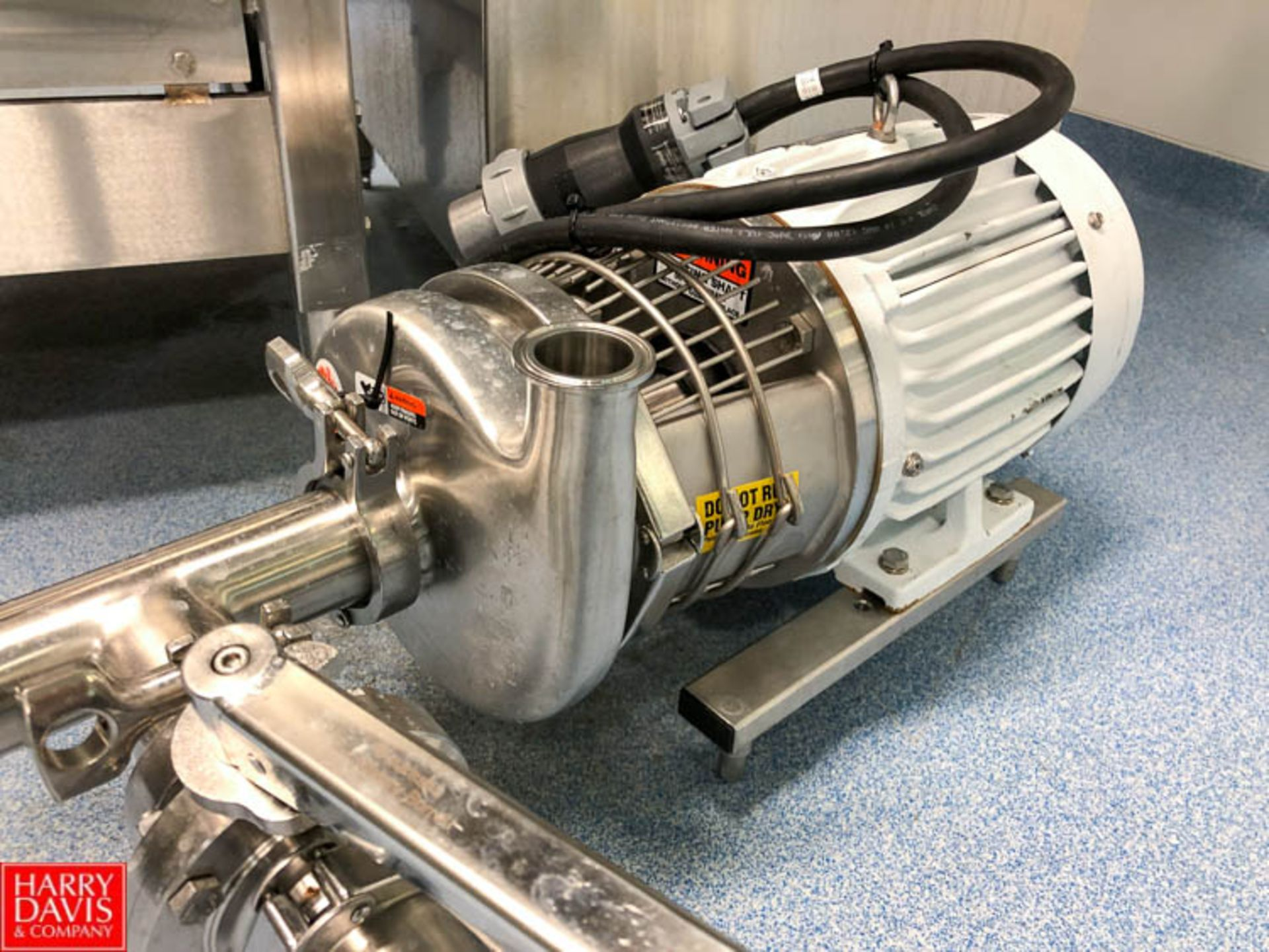 Lot 56 - Centrifugal Pump with 3 HP 3,495 RPM Motor