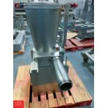 Agnelli Tortellini Filling Pump Model A540 Rigging Fee: $100
