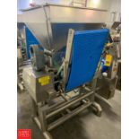 2013 Agnelli Single Sheeter Model A540 : SN S905.668, Mounted on Portable S/S Frame Rigging Fee: $