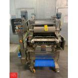 Agnelli Tortellini Machine Model A540, with S/S Frame Scrap Conveyor Rigging Fee: $400