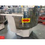 "Hsaio Lin S/S Mixing Bowl with Cart, 42"" Diameter x 21"" Depth Rigging Fee: $150"