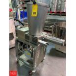 Agnelli Tortellini Filling Pump Model A540 Rigging Fee: $150