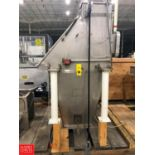 American Process Systems Hopper with Lid, Model FBD200, S/N 4409, Dump Station Rigging Fee: $75