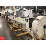 "Christian Continuous Indirect Heat Exchanger Auger Conveyor Therm-L-Veyor, 16"" x 216"", Model 16PB18,"