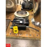 """12"""""""" S/S Butterfly Valve with Actuator Rigging Fee: $25"""