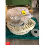 Pallet of Rubber Product Conveyor Rigging Fee: $75