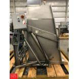 Custom Metal Craft S/S Hydraulic Super Sack Dumper, Model 1149600, S/N 44665 Rigging Fee: $75