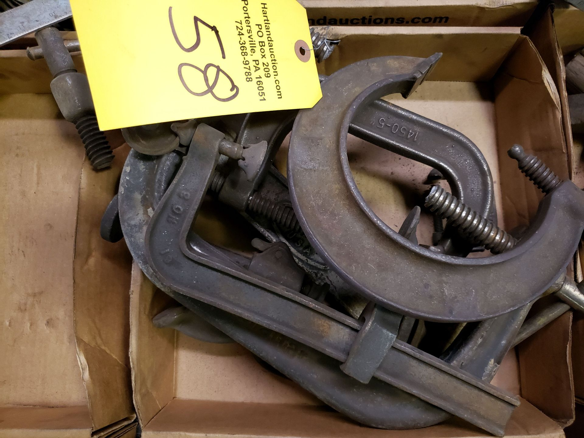 Lot 58 - C-CLAMPS