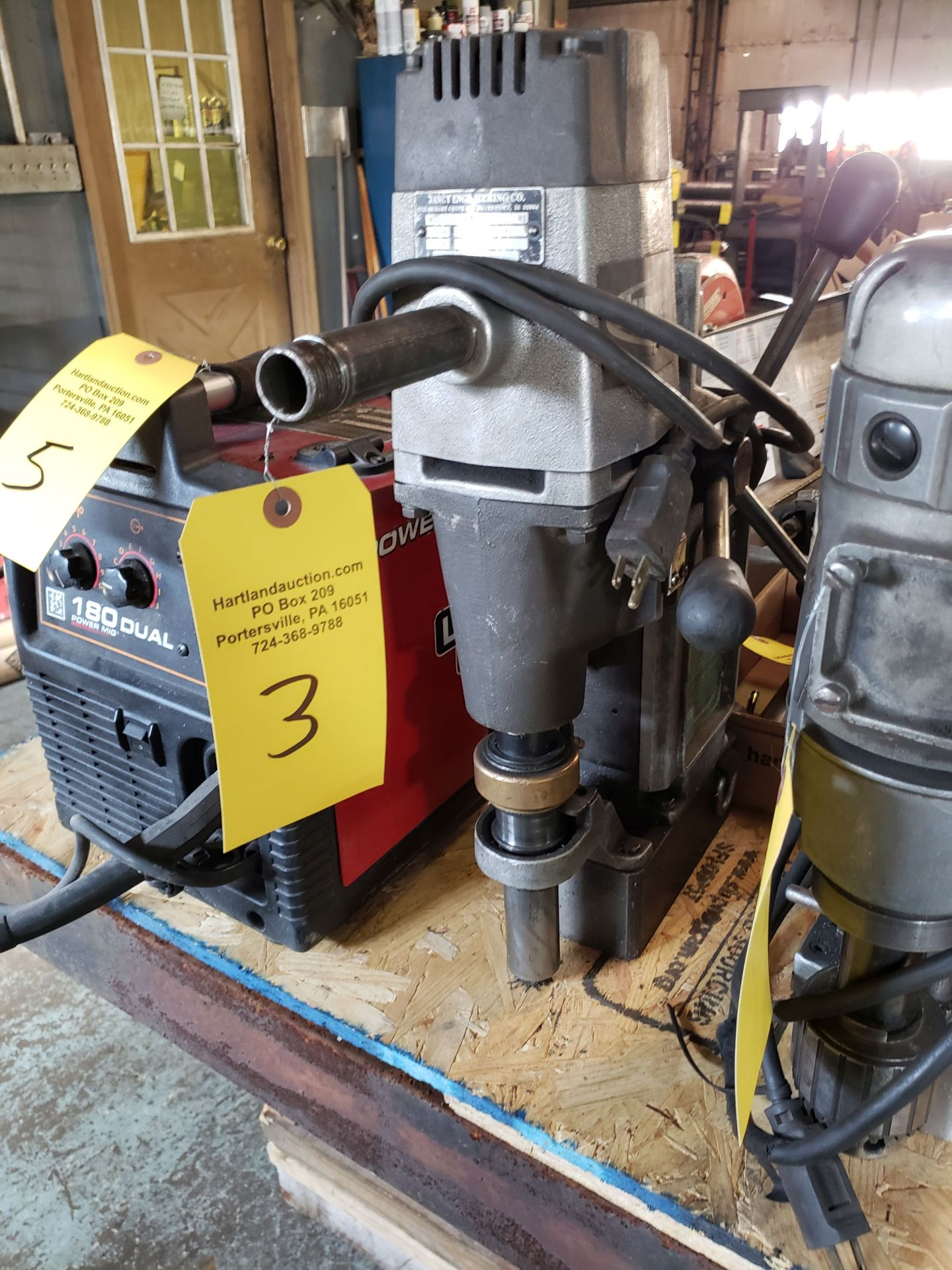 Lot 3 - JANCY SLUGGER MAGNETIC DRILL SN 5860R
