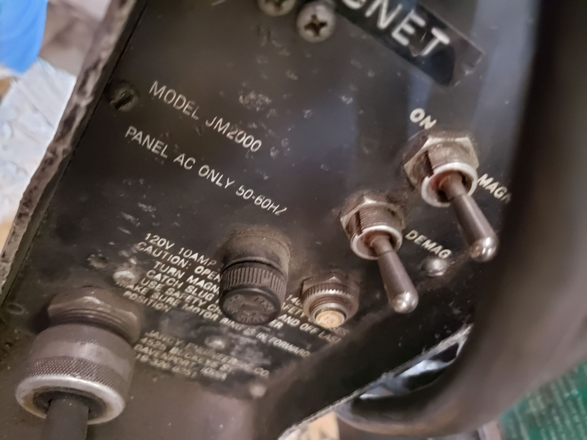Lot 2 - JANCY SLUGGER MAGNETIC DRILL mo. JM2000