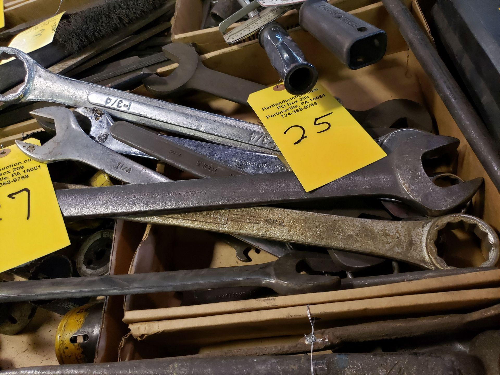 Lot 25 - COMBINATION WRENCHES