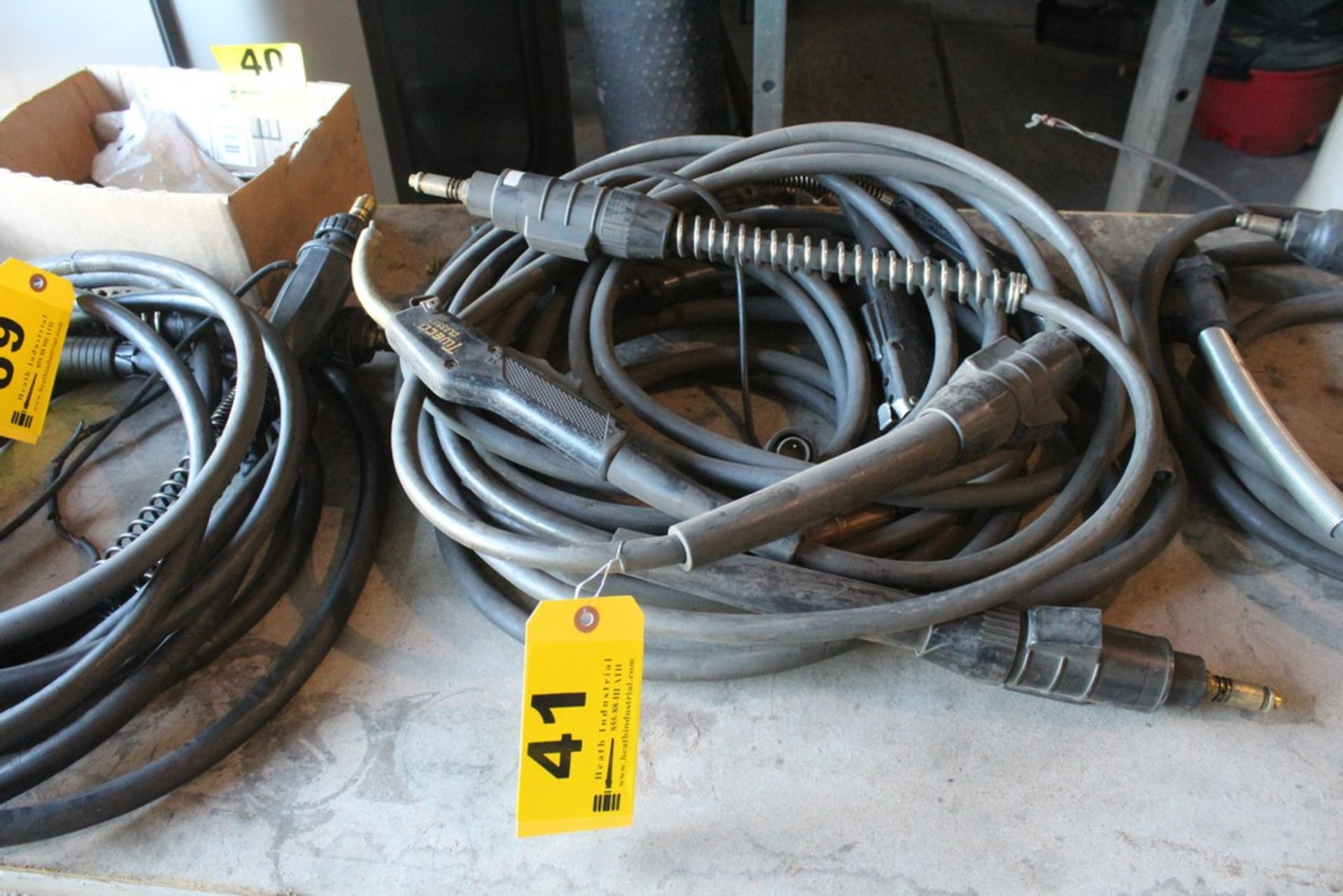 Lot 41 - (3) MIG WELDING GUNS