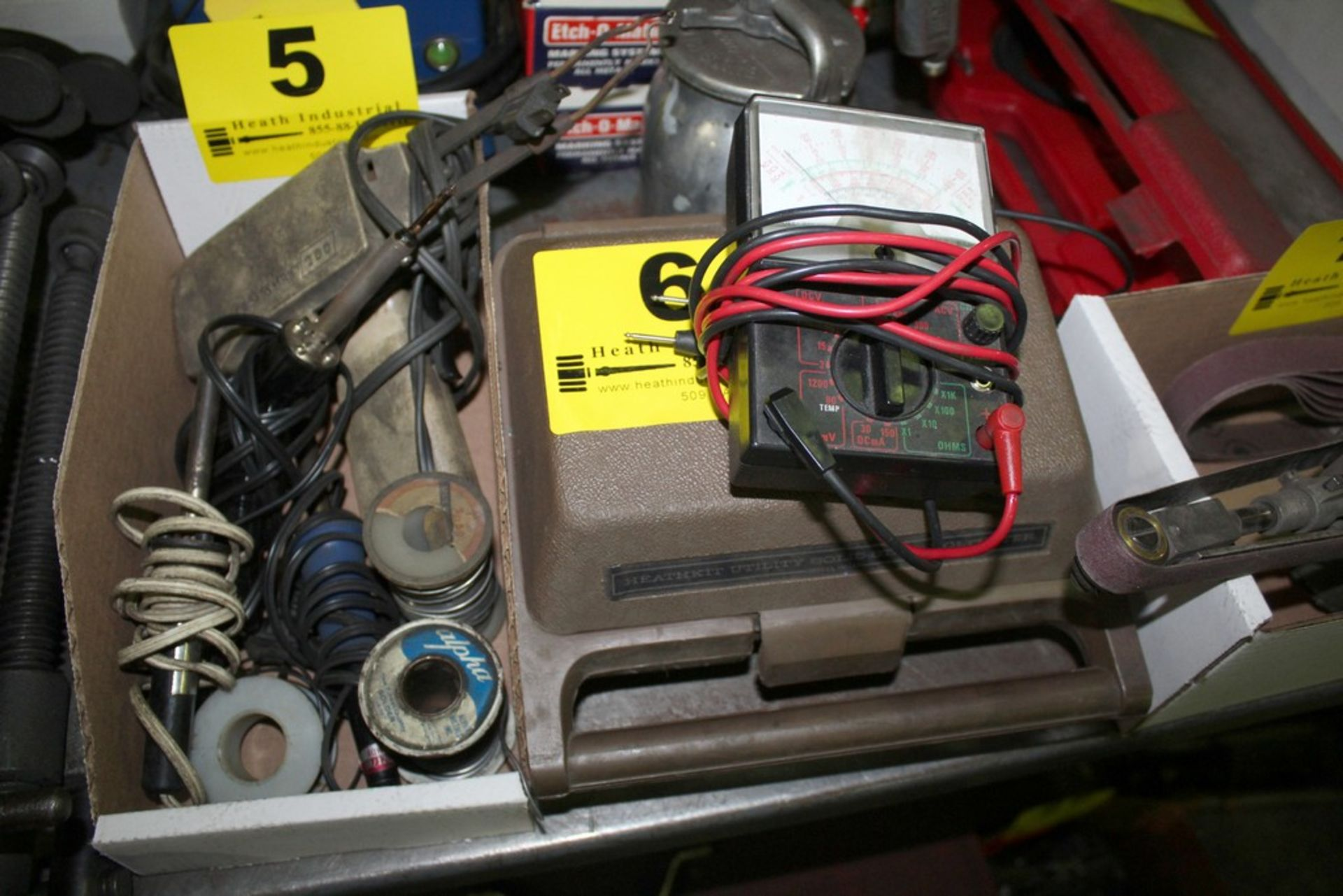 Lot 6 - (2) ASSORTED ELECTRICAL TEST METERS